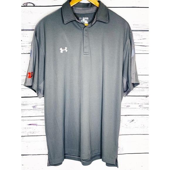 7ee3bd00f Under Armour Shirts | Heat Gear Polo Shirt Mens Xxl Nwot | Poshmark